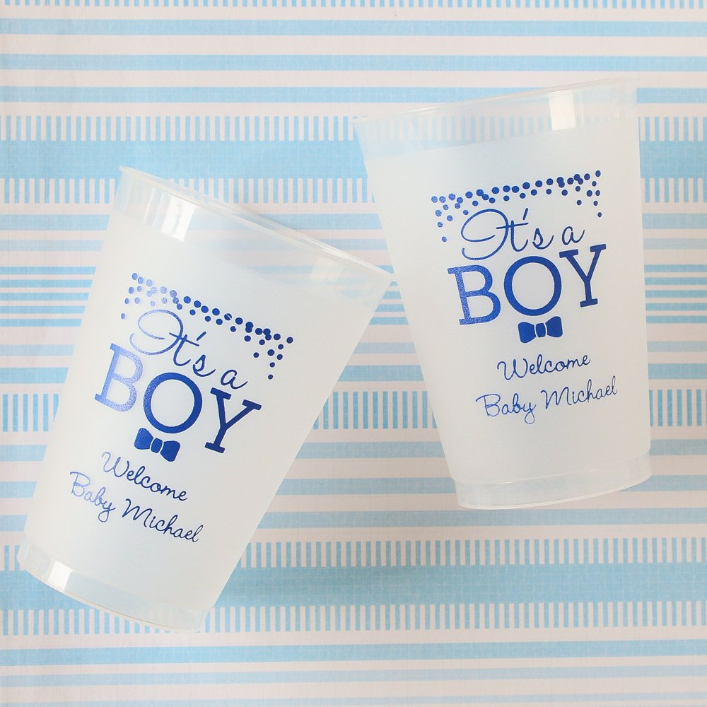 Personalized Plastic Baby Shower Cups