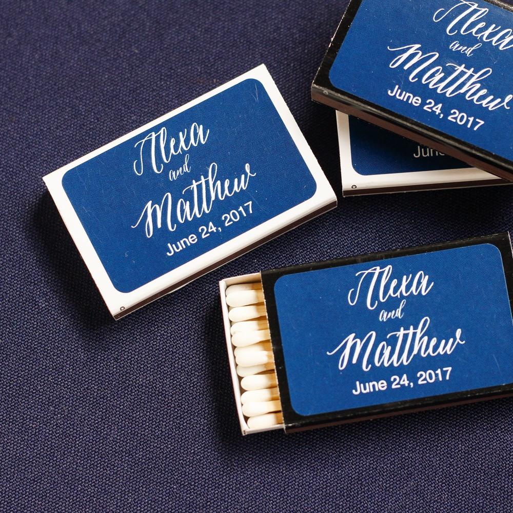 Personalized Wedding Matchboxes