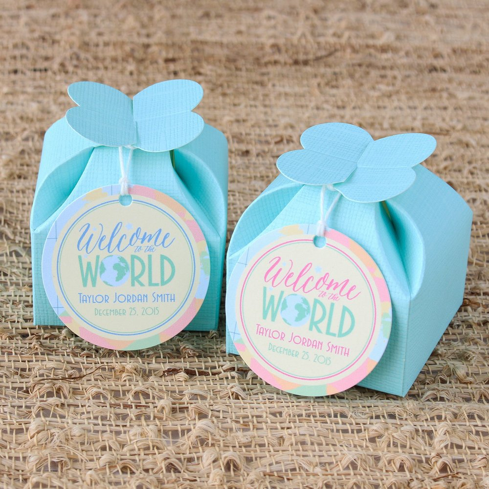 Personalized Baby Gift Tags