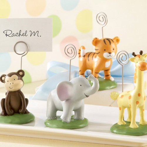 Mini Jungle Animal Baby Shower Place Card Holders 4109