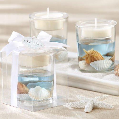 Seashell Gel Tea Light Holder 4131
