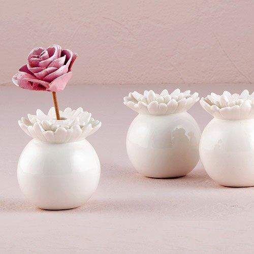 Mini Porcelain Flower Vases