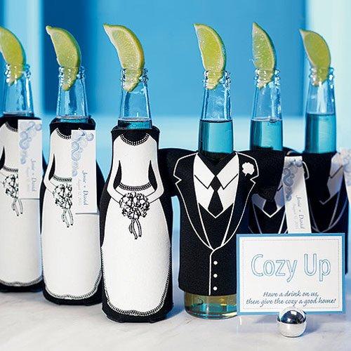 Tuxedo And Wedding Gown Bottle Sleeve 4218