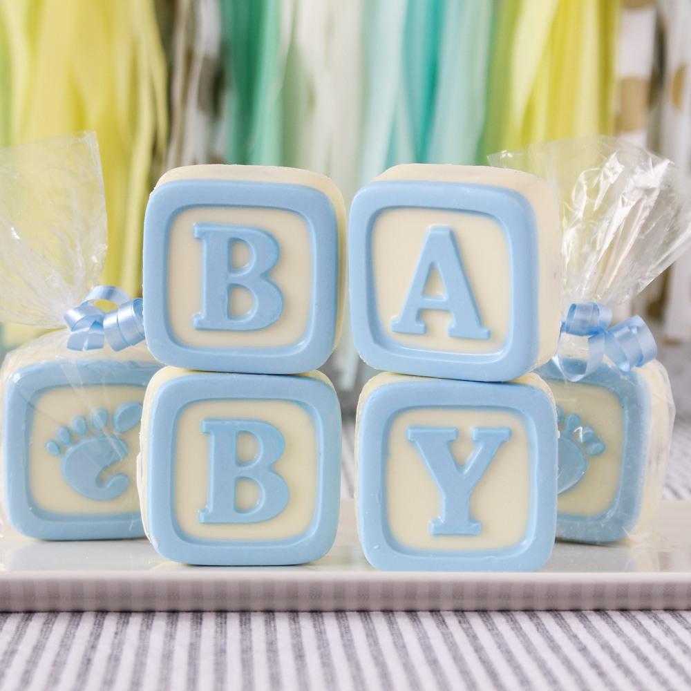 Baby Blocks White Chocolate Covered Oreo Cookies 4304
