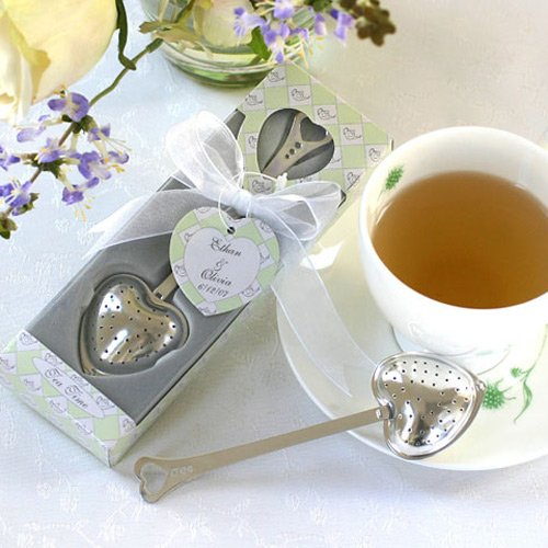 Personalized Tea Time Heart Shaped Tea Infuser 4325