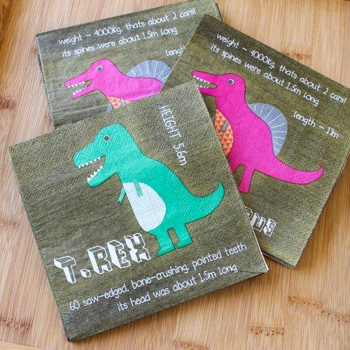 Dinosaur Party Napkins 4507