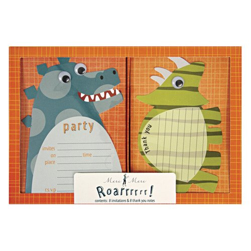 Dinosaur Party Invitations And Thank You Notes 4511