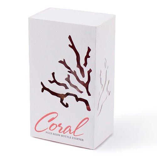 Coral Bottle Stopper Favor