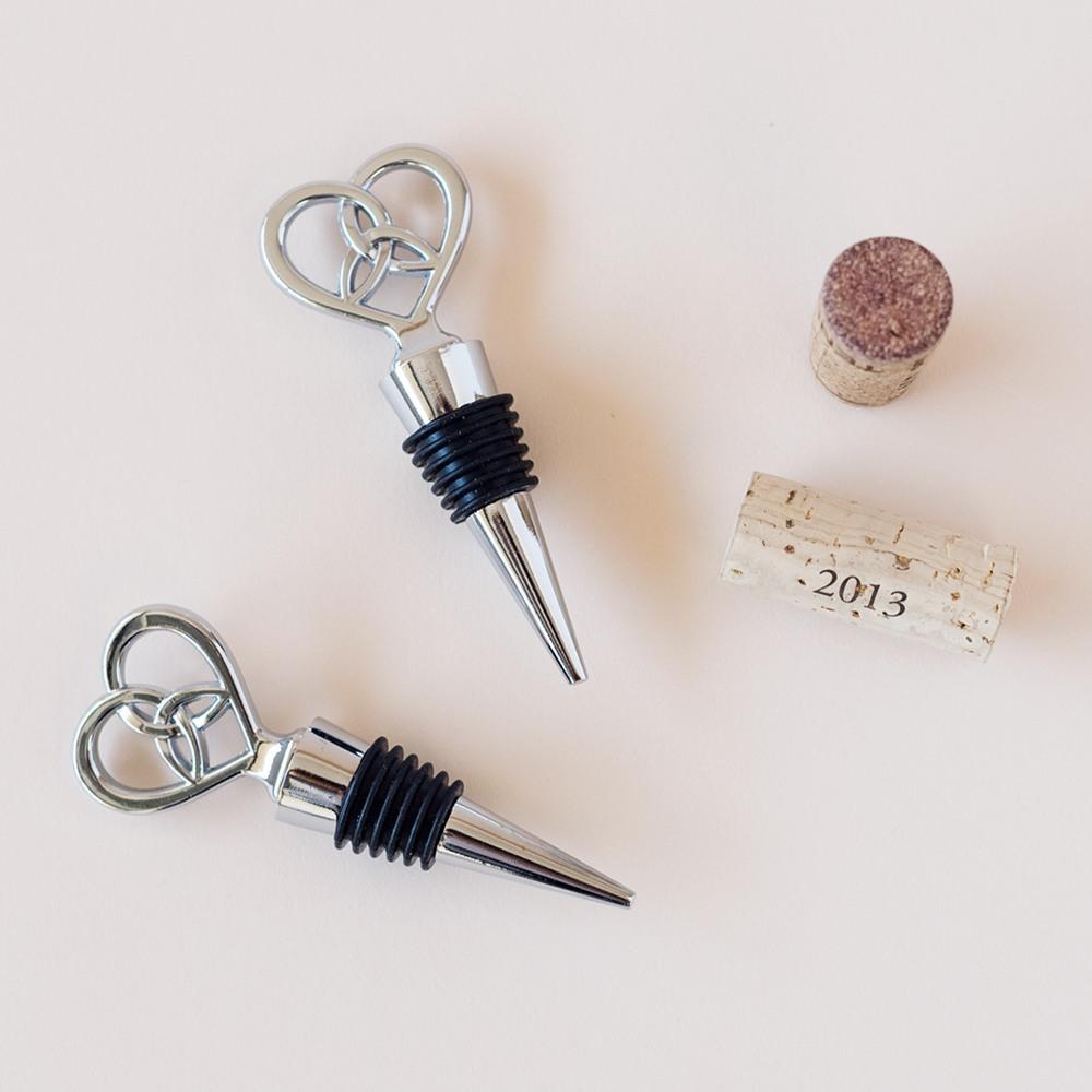 Love Knot Bottle Stopper 4607