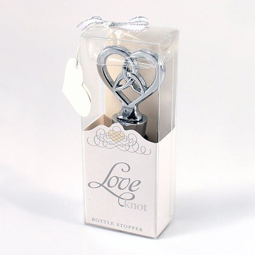 Love Knot Bottle Stopper with Packaging