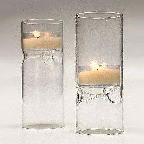 Blown Glass Mini Tea Light Luminaries 4625