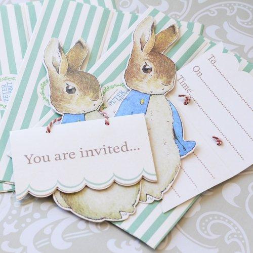 Peter Rabbit Party Invitations 4691