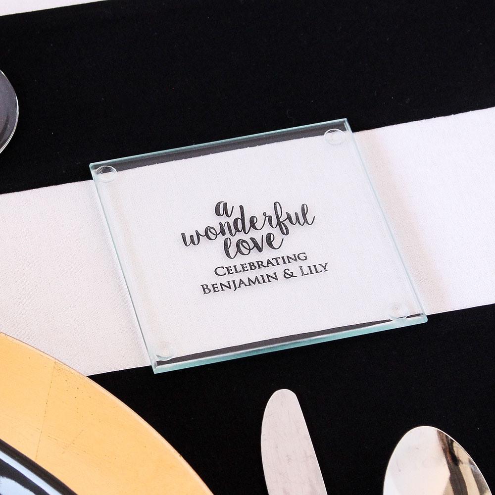 Personalized Wonderful Love Coasters