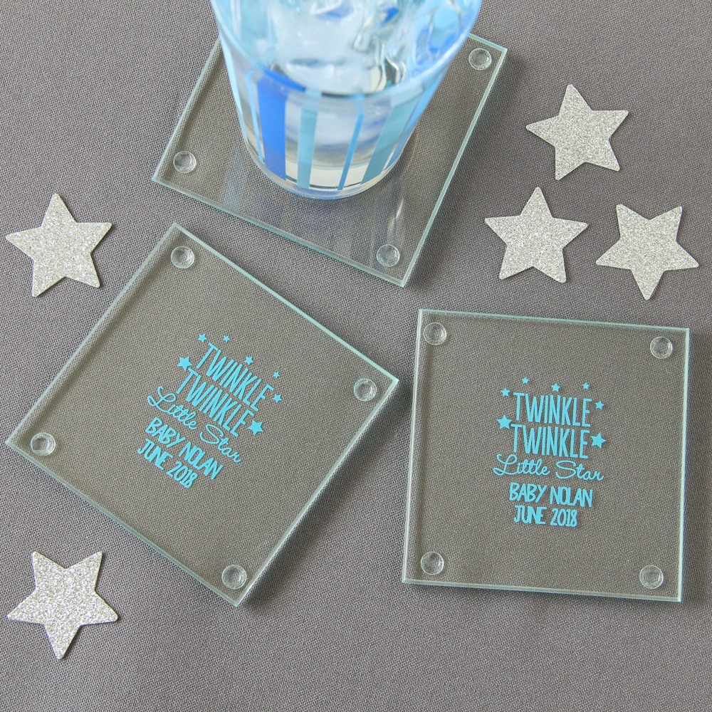 Personalized Glass Coasters 4843