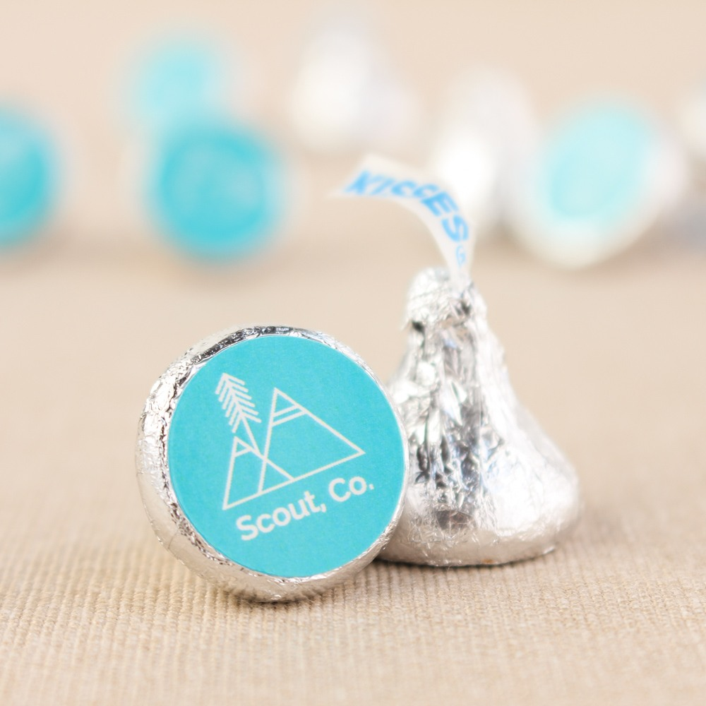 Corporate Logo Hershey's Kisses
