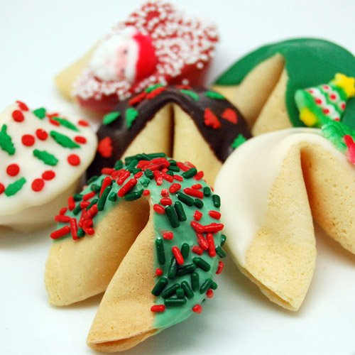 Custom Holiday Fortune Cookie 4996