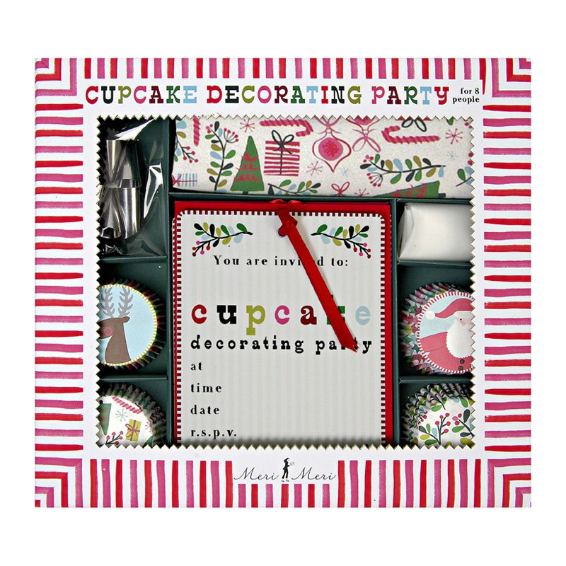 Holiday Cupcake Decorating Party Kit 5427