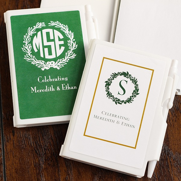 Personalized Wreath Notebooks