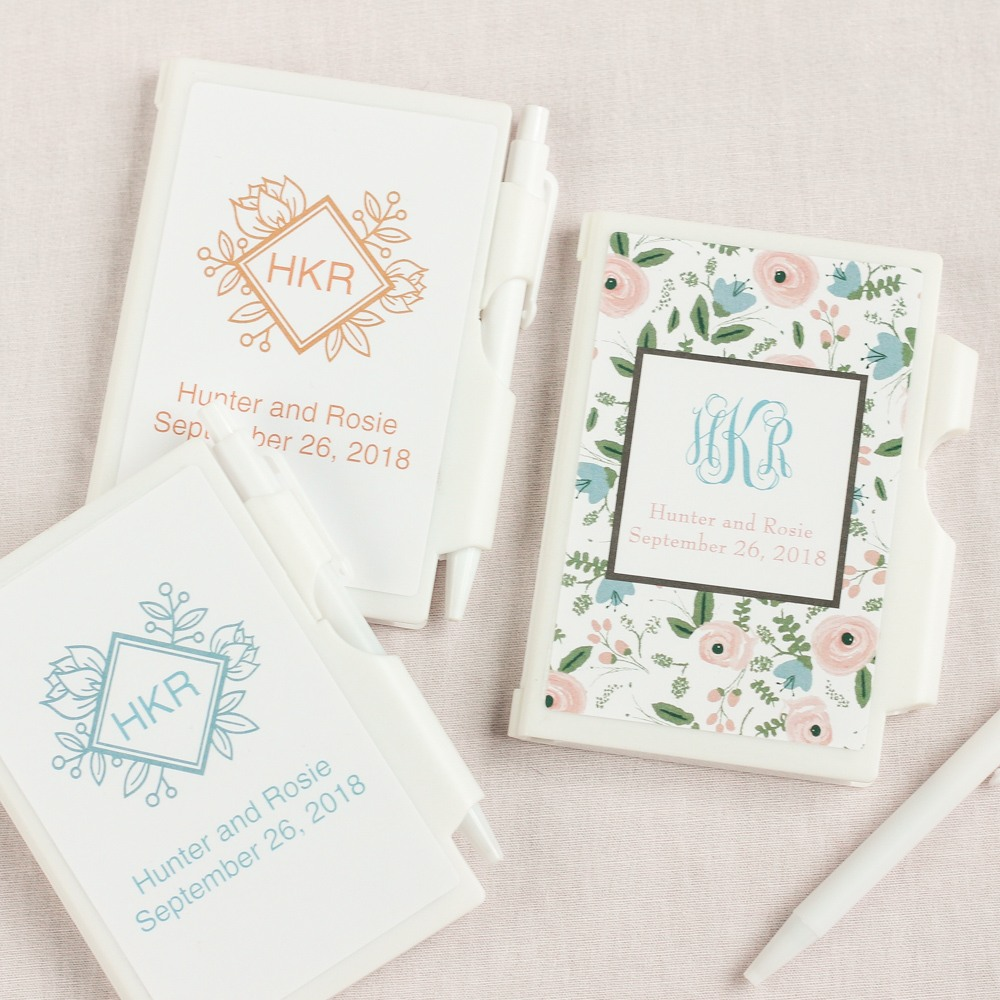 Personalized Wedding Themed Notebook 5779