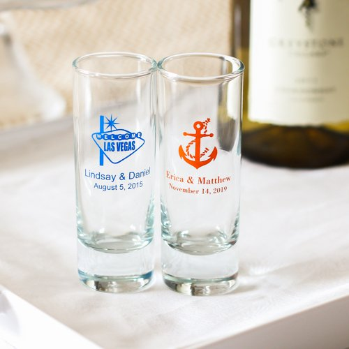 Personalized Double Shot Glass 5871