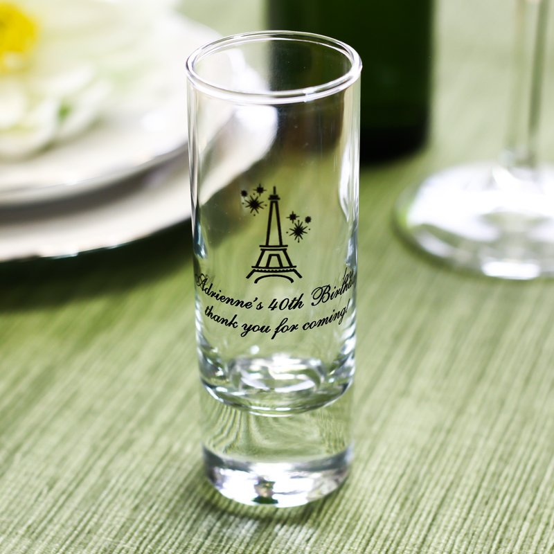 Personalized Double Shot Glass
