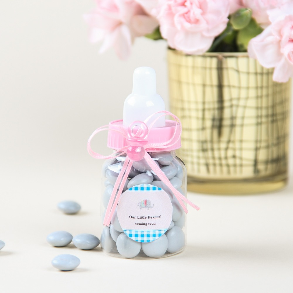 Personalized Baby Bottle Favor 5874