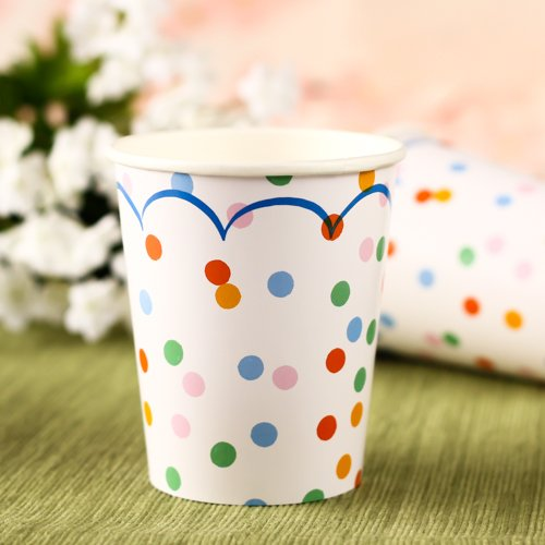 Toot Sweet Spotty Party Cups 6268