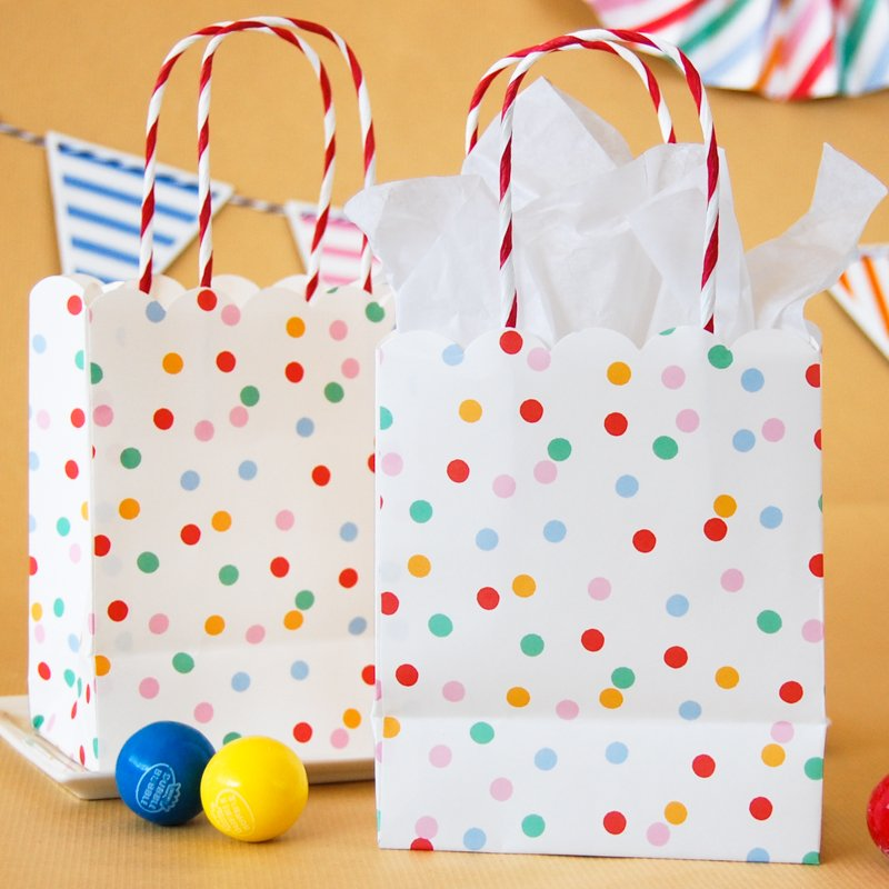 Toot Sweet Spotty Party Bags 6273