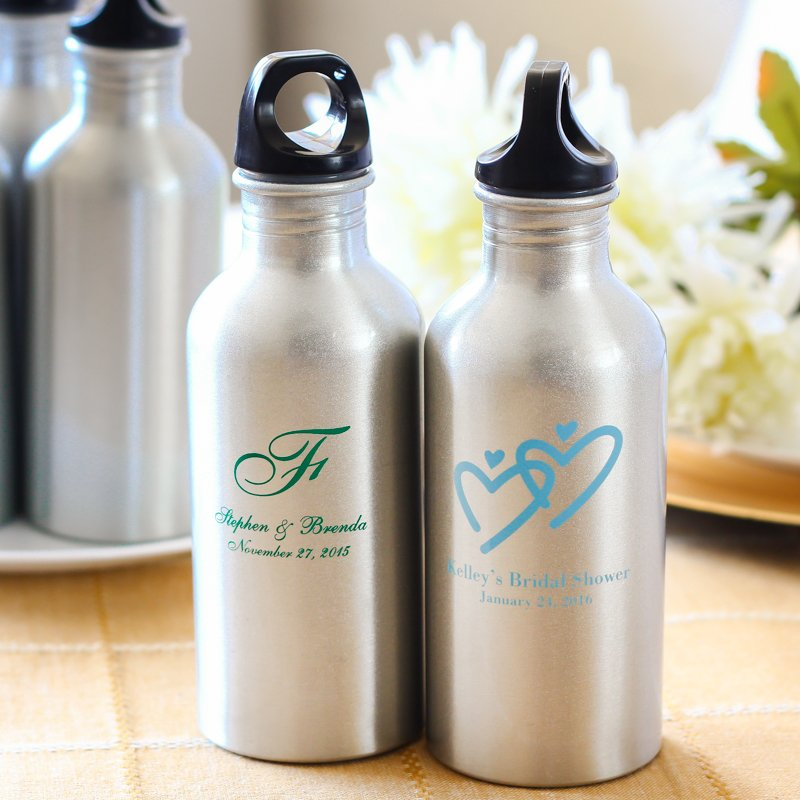 Personalized Bridal Water Canisters