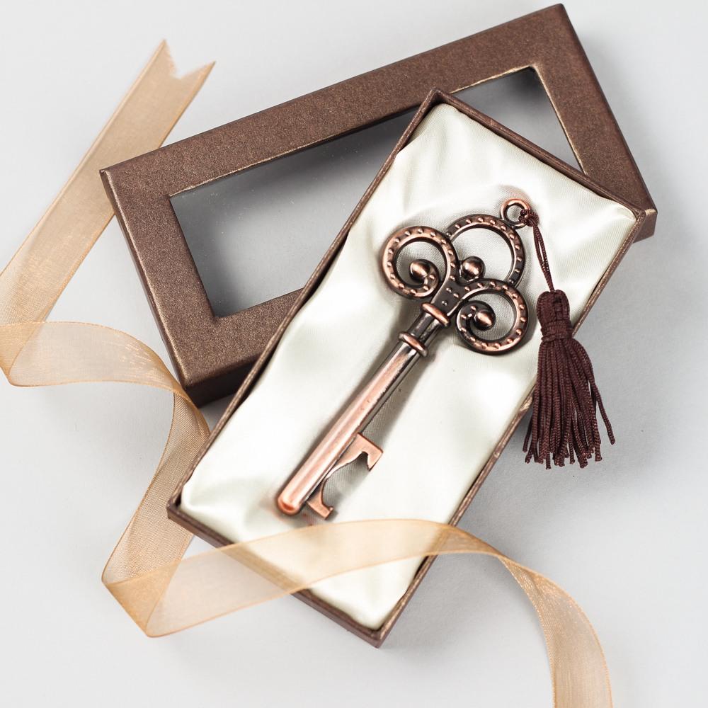 Vintage Key Bottle Opener in Bronze
