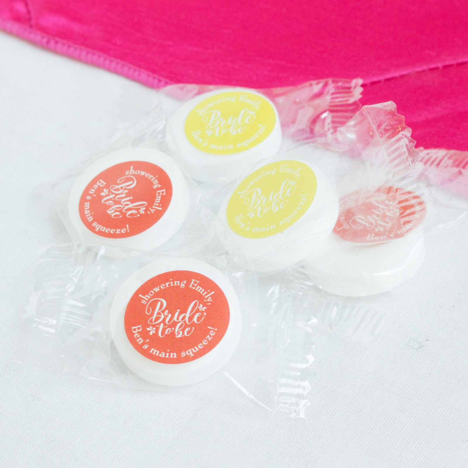 Personalized Bride to Be Life Saver Candies