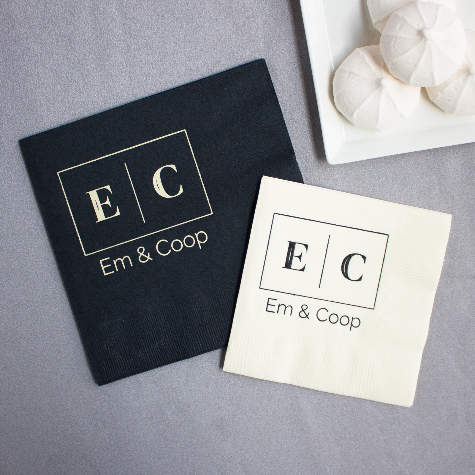 Personalized Corporate Logo Napkin