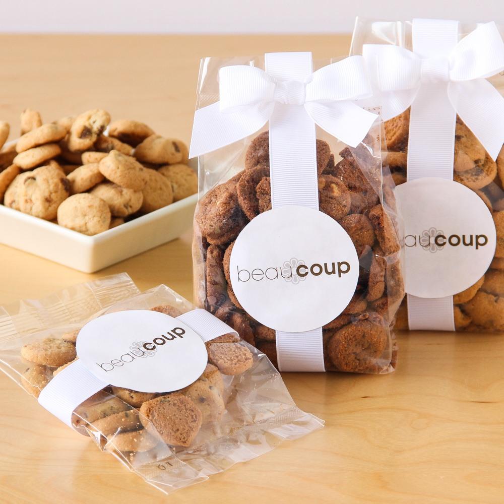 Corporate Logo Cookie Favor Bags 6575