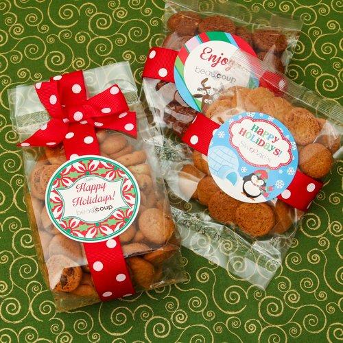 Corporate Logo Cookie Favor Bags