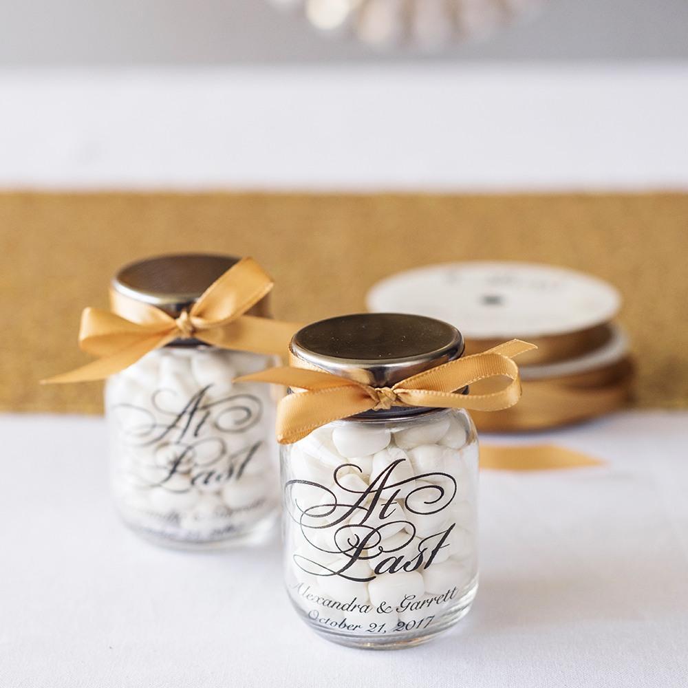 Personalized At Last Mini Mason Jars