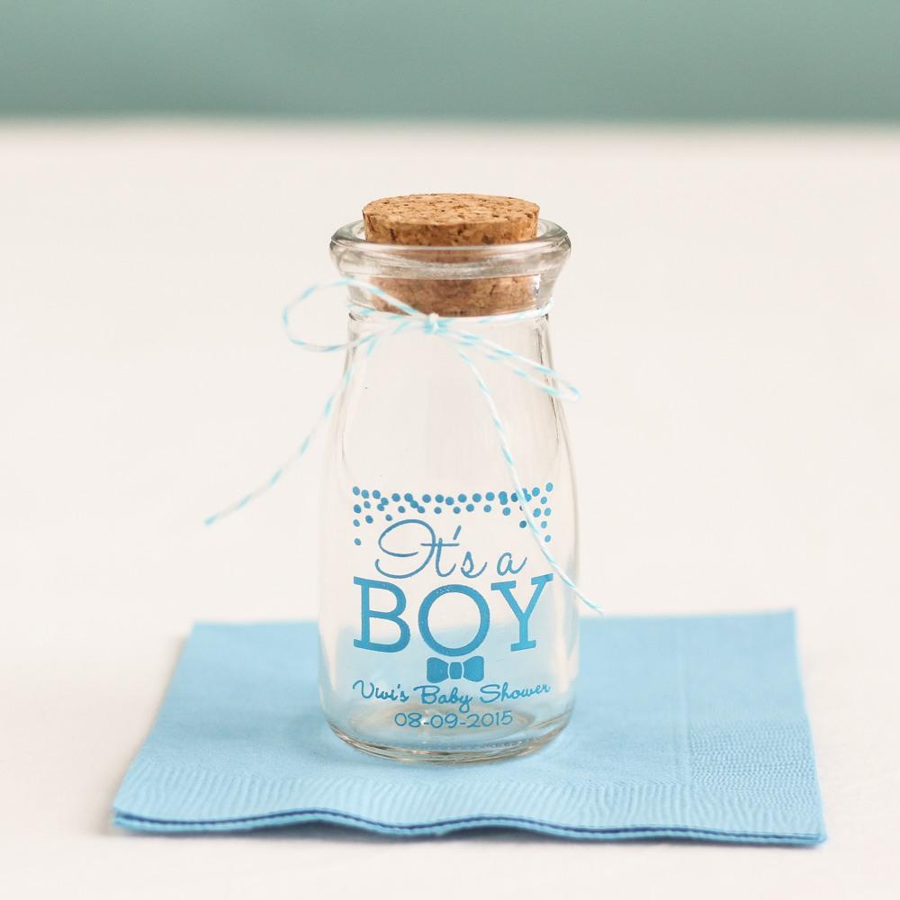 It's a Boy Vintage Milk Jar