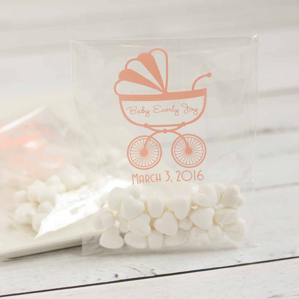 Personalized Carriage Cellophane Bags