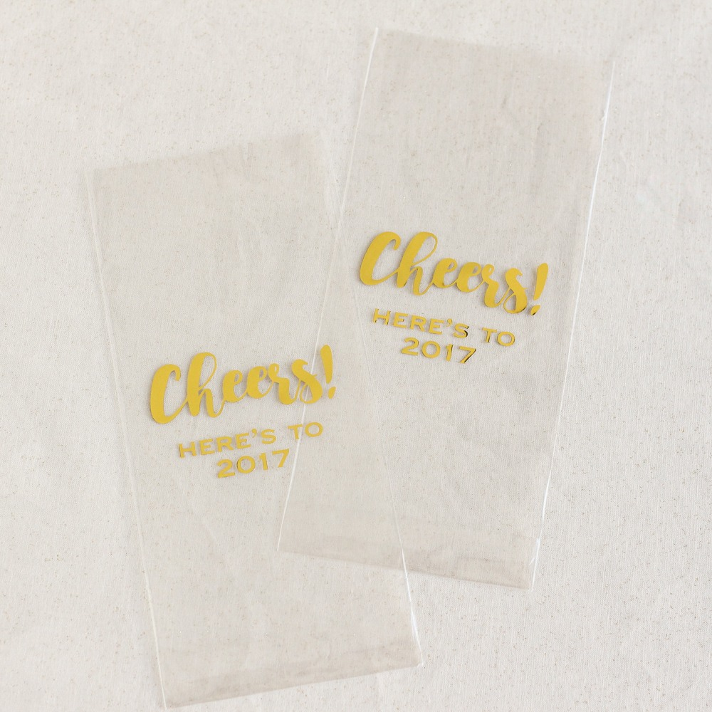 Personalized Party Cellophane Bags