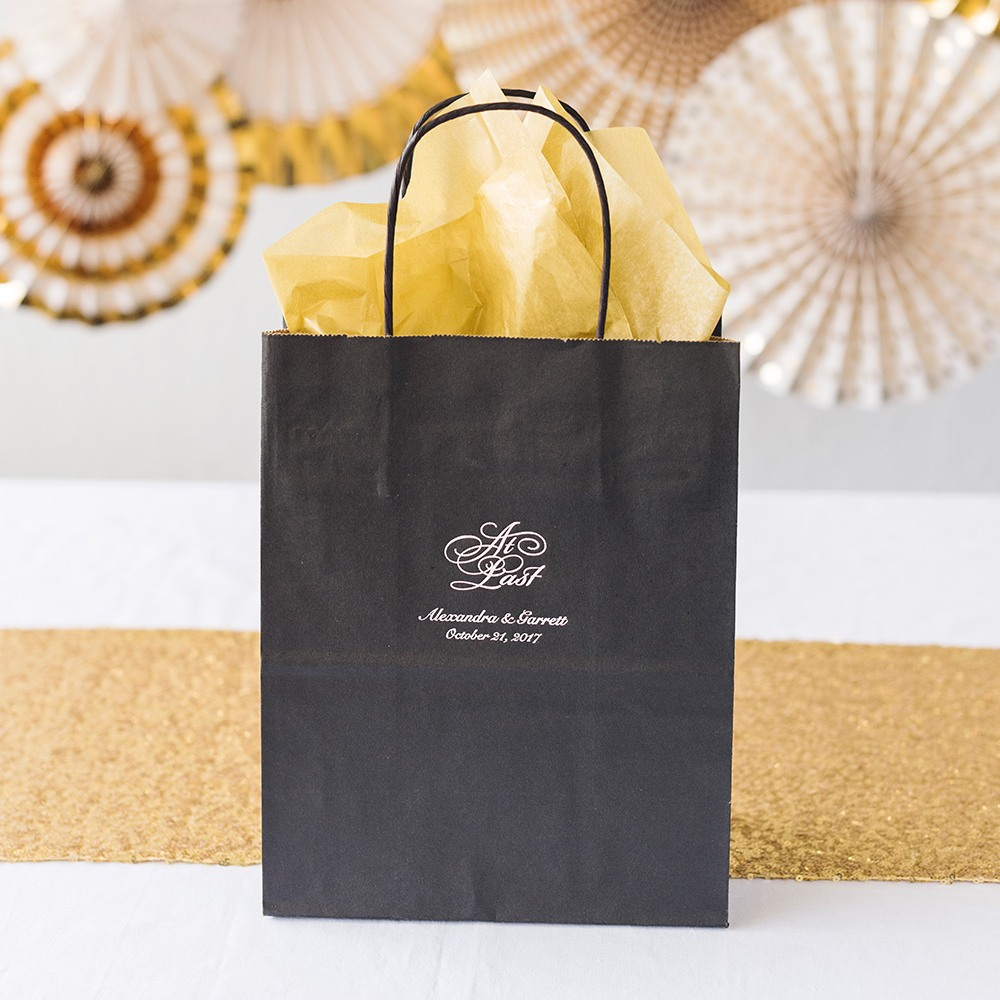 Personalized Wedding Gift Bag