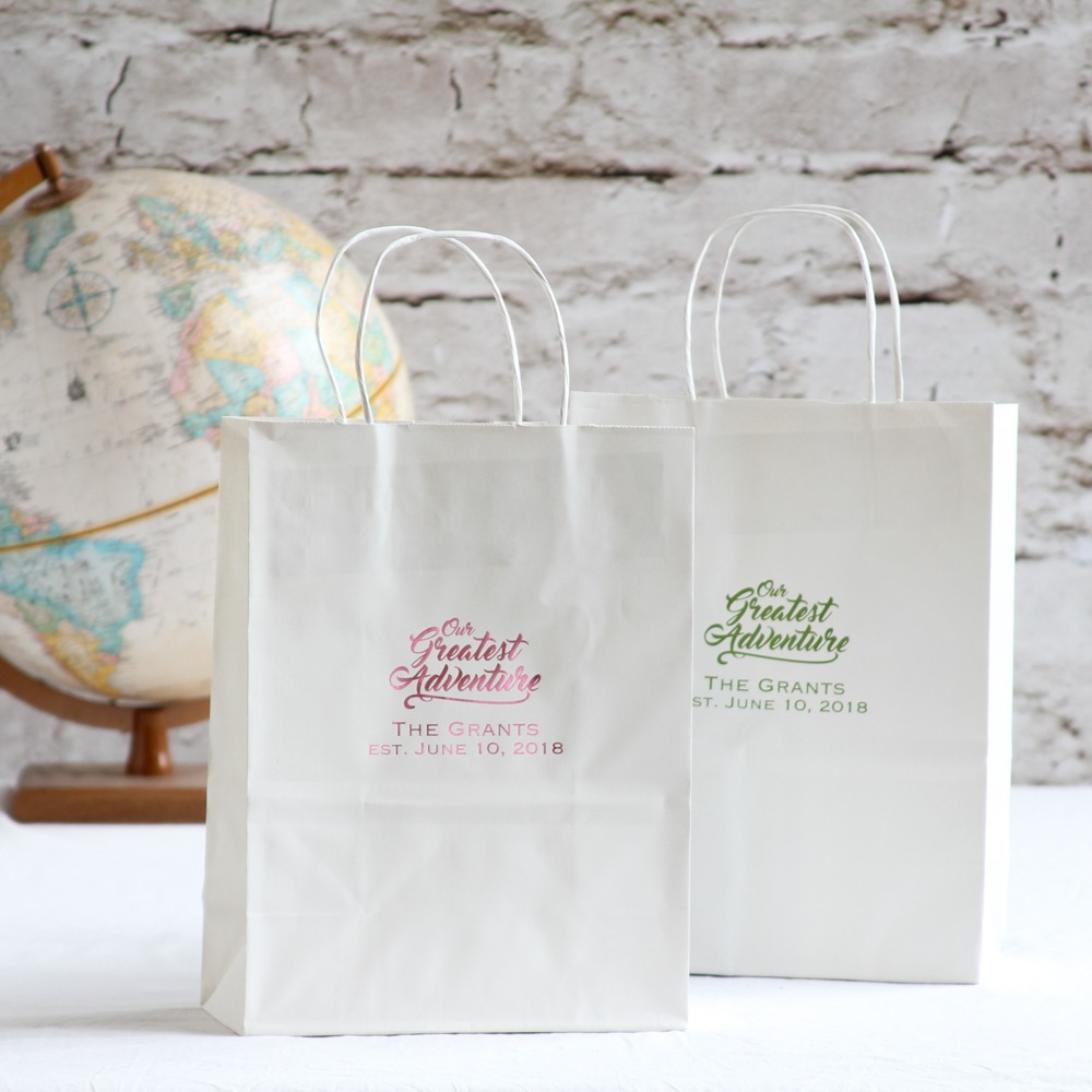 Personalized Greatest Adventure Gift Bags