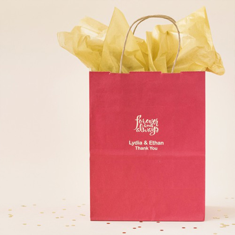 Personalized Bridal Gift Bags