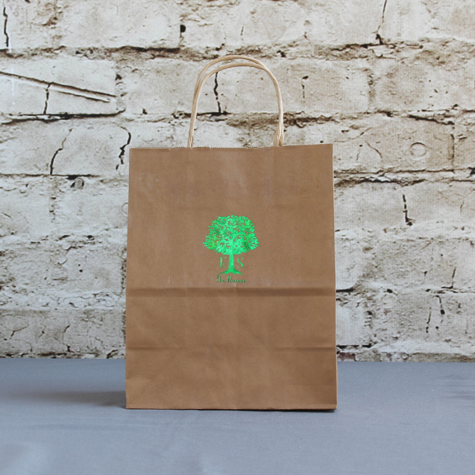 Personalized Tree Wedding Gift Bags
