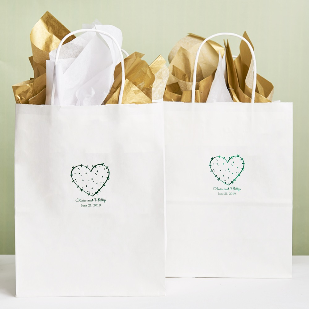 Personalized Stuck On You Gift Bags