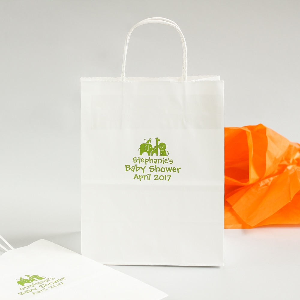 Personalized Safari Gift Bag