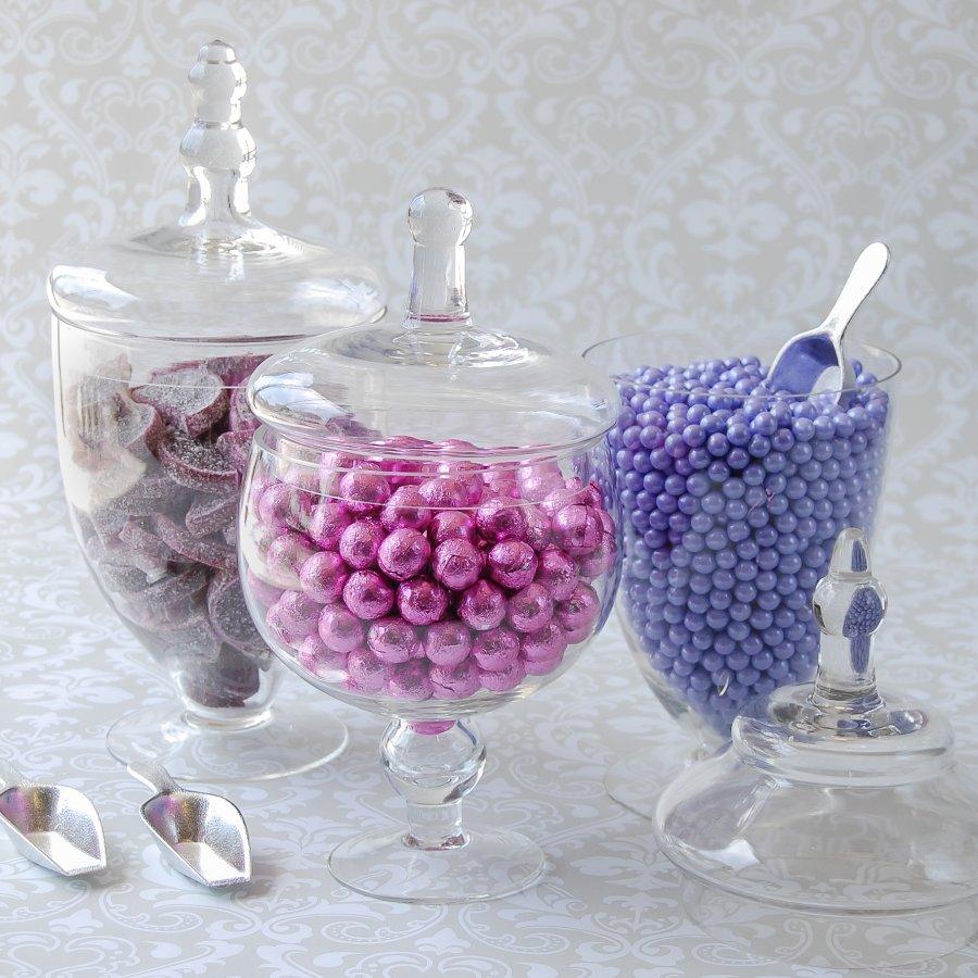 Glass Apothecary Jars 6899