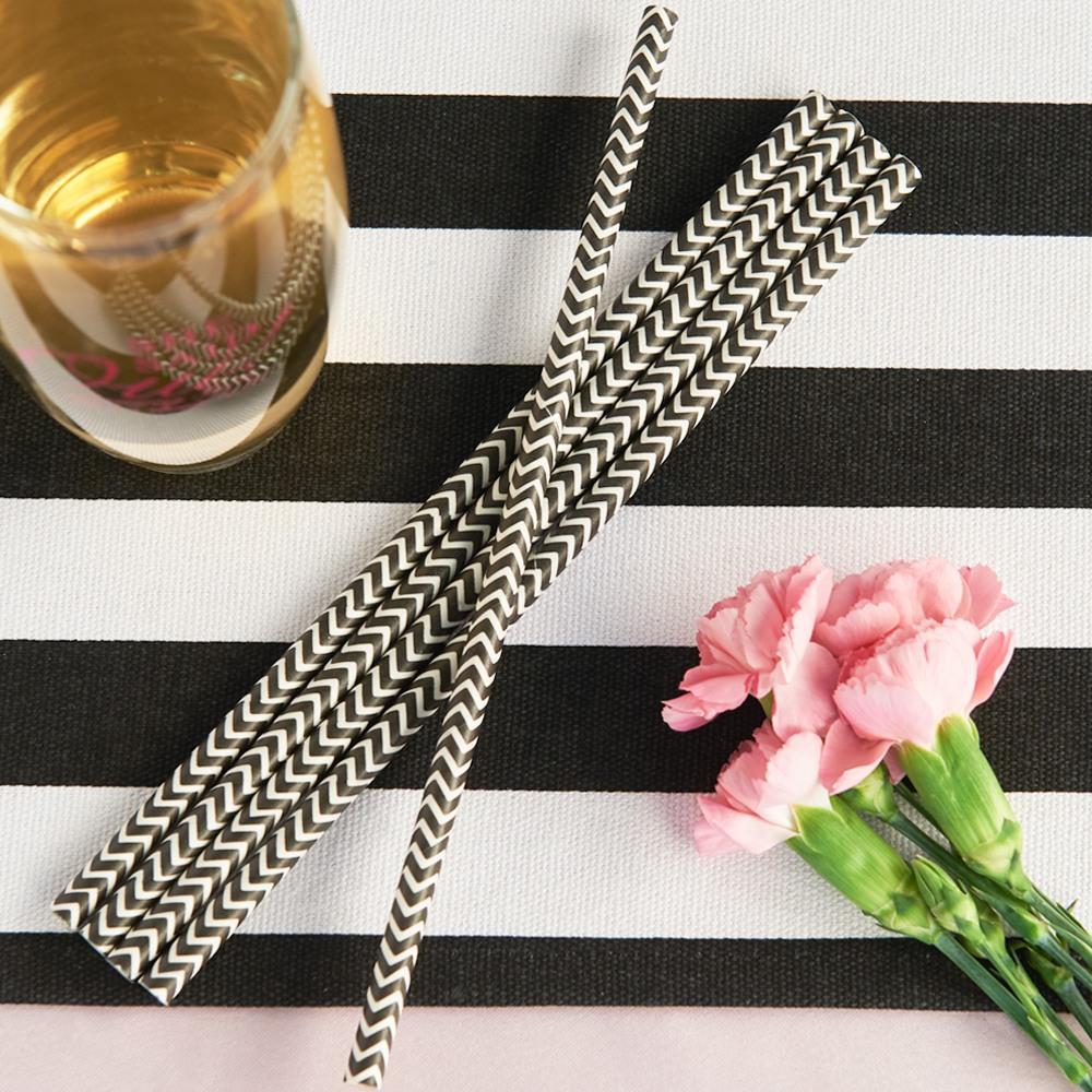 Decorative Paper Straws 6947