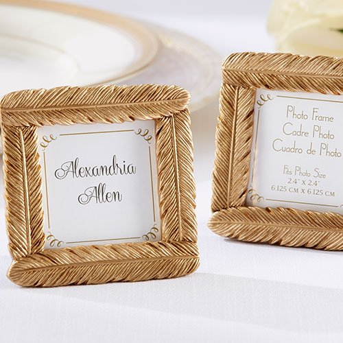 Gold Feather Frame 7127