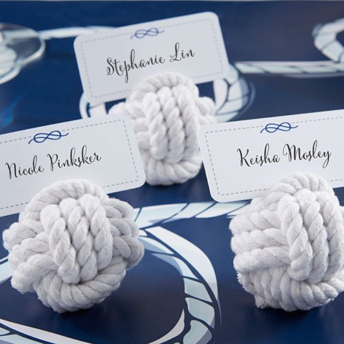 Nautical Rope Place Card Holder 7139
