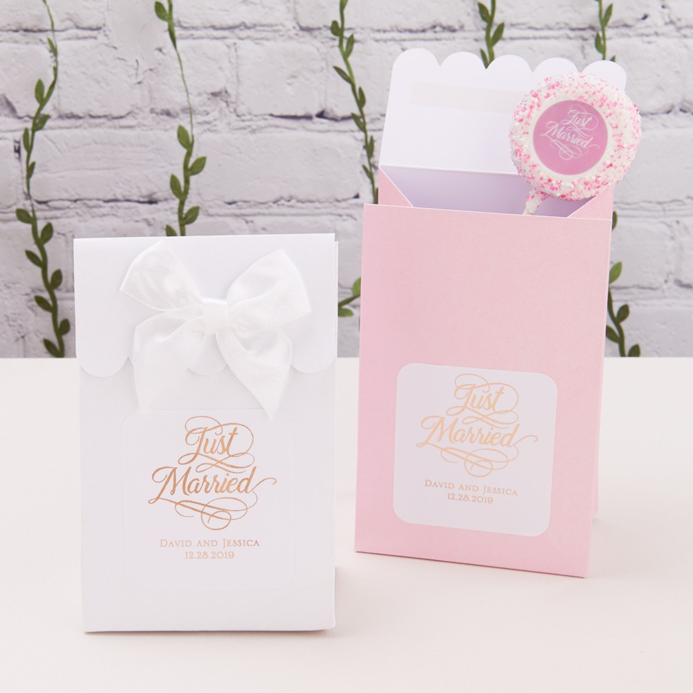Personalized Metallic Foil Candy Bags 7168
