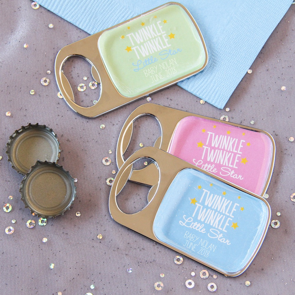 Personalized Twinkle Twinkle Epoxy Bottle Openers